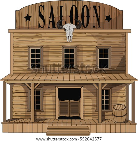 Saloon stock images royalty free images vectors - Dessin saloon ...
