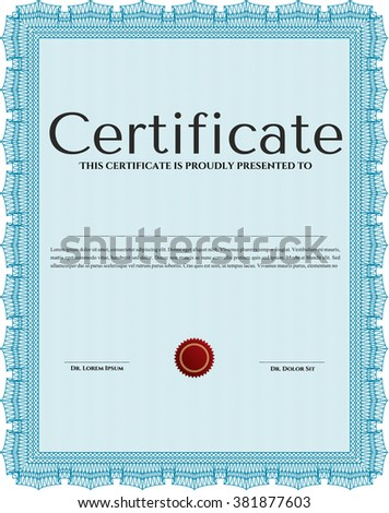 sample certificate diploma vector certificate template stock  sample certificate or diploma vector certificate template retro design complex linear background