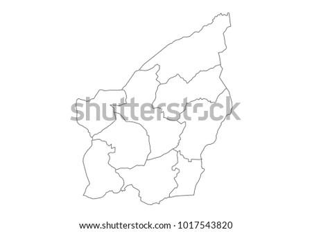 San Marino Vector Map Stock Images RoyaltyFree Images Vectors