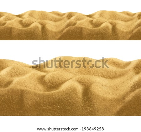 Sand, seamless vector - stock vector