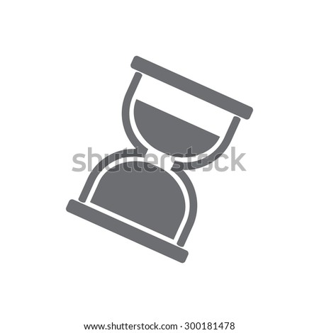 Sandglass icon  - stock vector