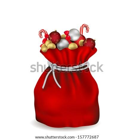 Santas Toy Bag Stock Photos, Royalty-Free Images & Vectors ...