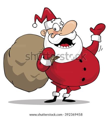 Santa Claus - stock vector
