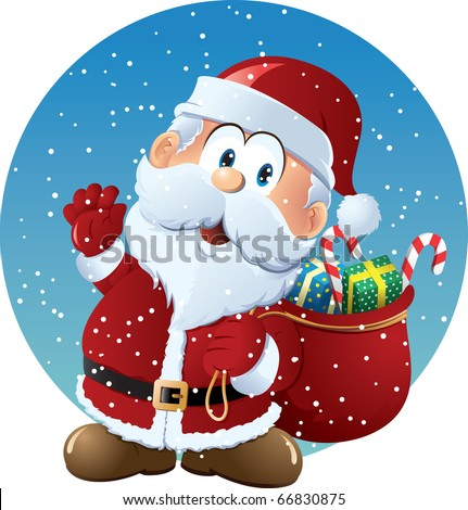 Santa Claus - stock vector