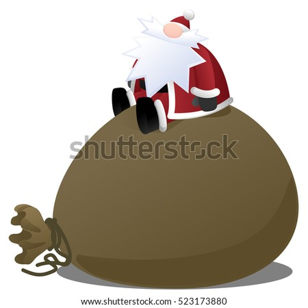 Santa Claus Big Sack