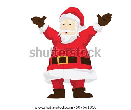 Santa Claus Character - The Warm Welcome