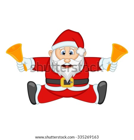 Santa Claus For Your Design Vector Illustration