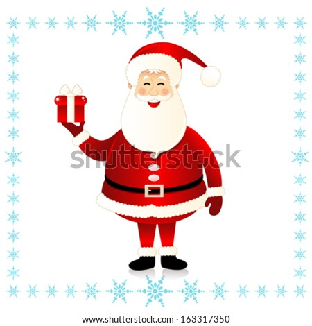 Santa Claus - Illustration - stock vector