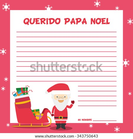 santa claus letter stock images royalty free images vectors