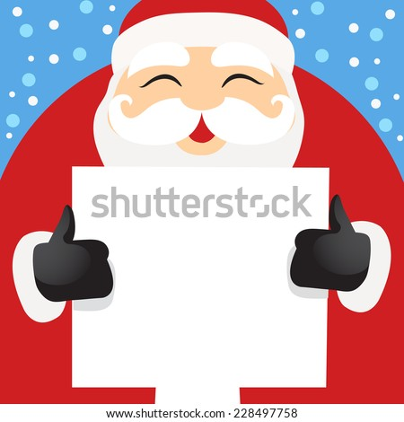 Santa Claus - vector illustrator  - stock vector