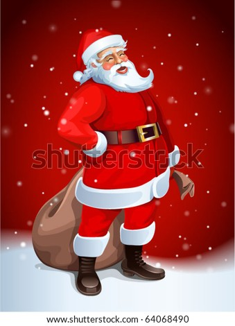 Santa Claus vector image - stock vector