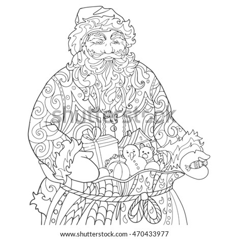 Christmas Coloring Book Stock Images, Royalty-Free Images ...