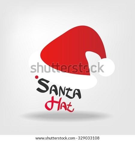 Santa hat - stock vector