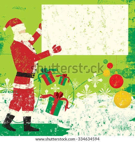Santa Sign