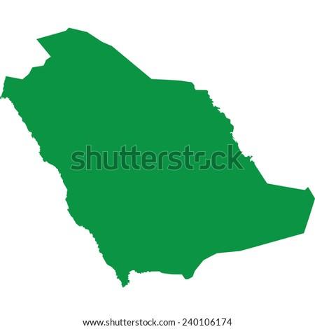 saudi arabia - stock vector