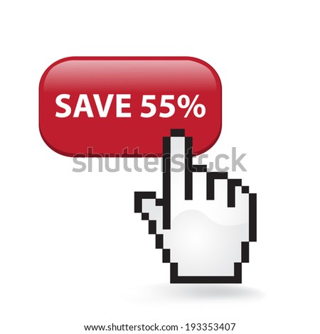 Save Fifty Five Percent Button