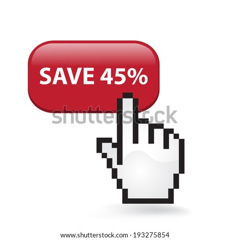Save Forty Five Percent Button