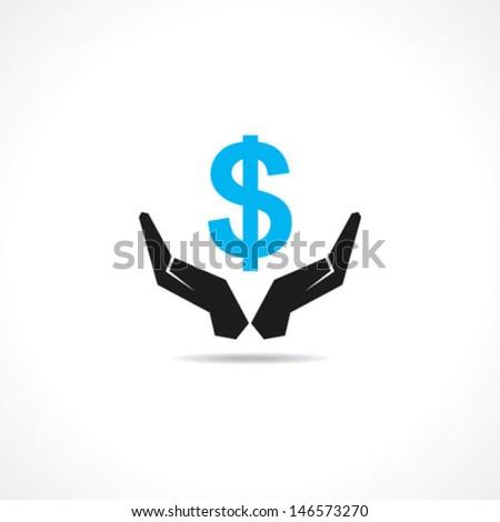 save money concept stock vector - stock vector