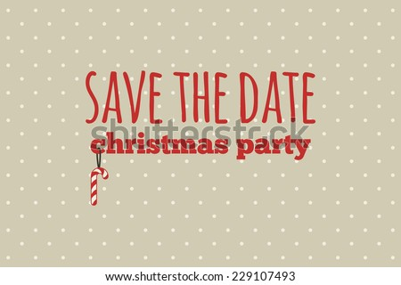 save date christmas card traditional colors stock vector hd royalty