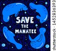 save the manatee concept....