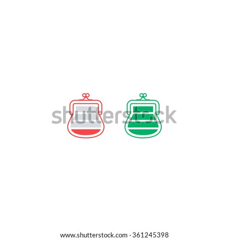 Savings account concept - stock vector