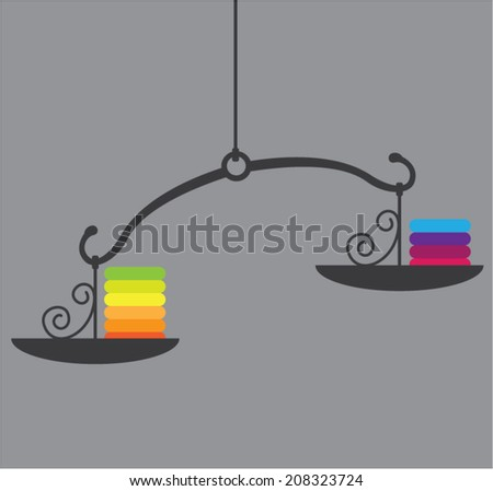 Scale Vector - stock vector