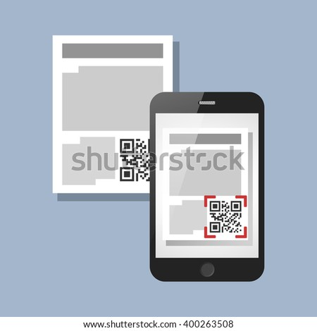Scanning qr code on document