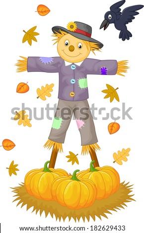 Scarecrow cartoon