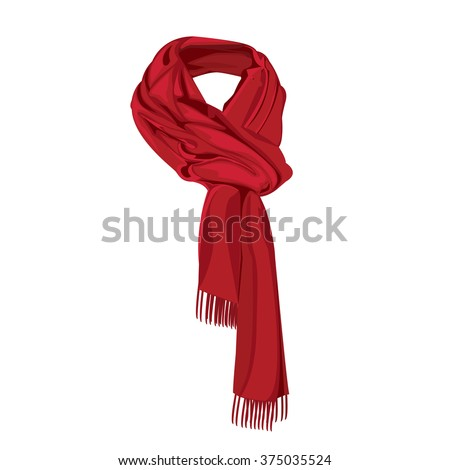 scarf design,scarf art,scarf illustration,scarf cartoon, scarf graphic,scarf style,scarf vector,scarf fashion,scarf beautiful,scarf color red,scarf isolated, scarf graphic,scarf beautiful,scarf EPS10. - stock vector