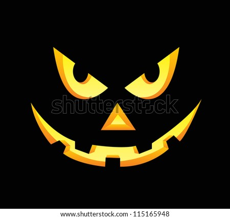 Scary Face Stock Vectors &amp Vector Clip Art  Shutterstock