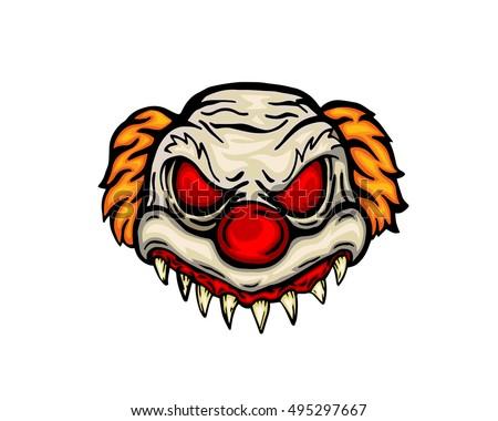 scary halloween mask costume evil clown