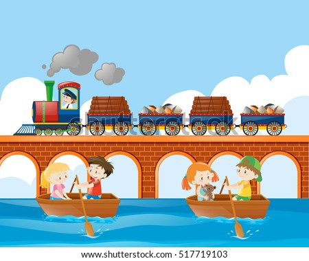 Kids Train Stock Images, Royalty-Free Images & Vectors | Shutterstock