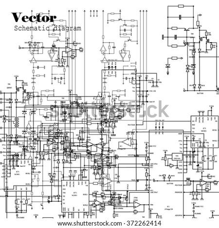 electric circuit diagram stock photos, royaltyfree images, wiring diagram