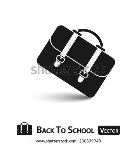 School Bag ( Back to school ) - stock vector