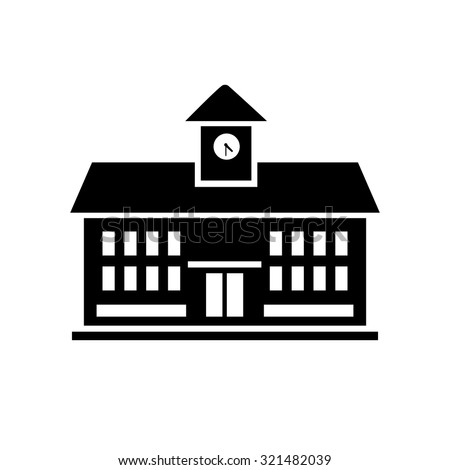school building icon stock vector 321482039 shutterstock