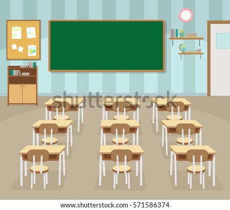 Classroom stock images royalty free images vectors for Room and board kids table