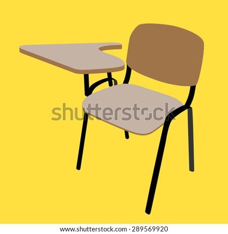 School Desk Chair school desk chair stock images, royalty-free images & vectors