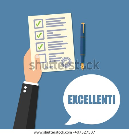 Survey Flat Icon
