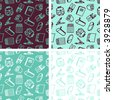 School seamless pattern - others: http://www.shutters tock.com/lightboxes .mhtml?lightbox_id= 498964 - stock vector
