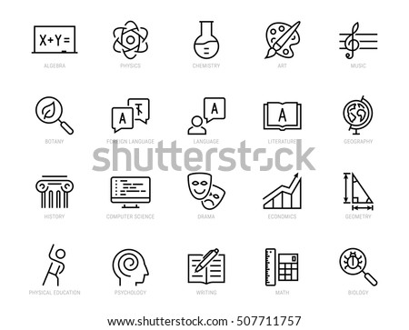 School Subjects Stock Images, Royalty-Free Images & Vectors ...
