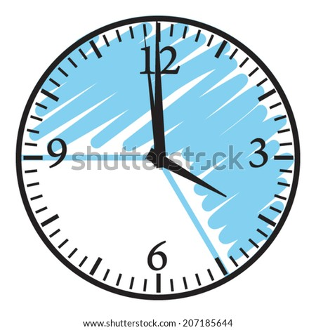 School timetables or working schedule. Vector icon. - stock vector