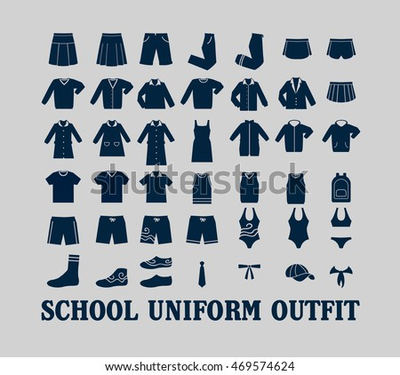 school uniform stock images royalty free images amp vectors