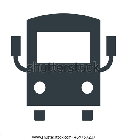 School Van Vector Icon