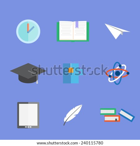 science and study - stock vector