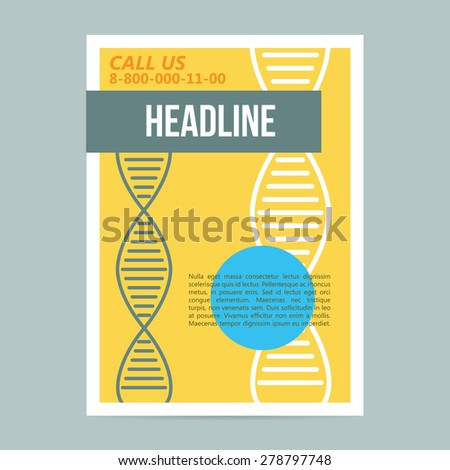 set science covers book flyers poster stock vector 279672620 shutterstock. Black Bedroom Furniture Sets. Home Design Ideas