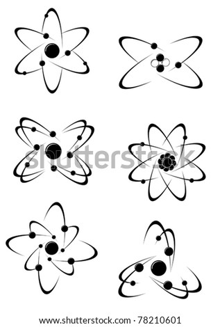 Science symbols and icons for medicine, biology, pharmacy and another scientific design. Jpeg version also available - stock vector