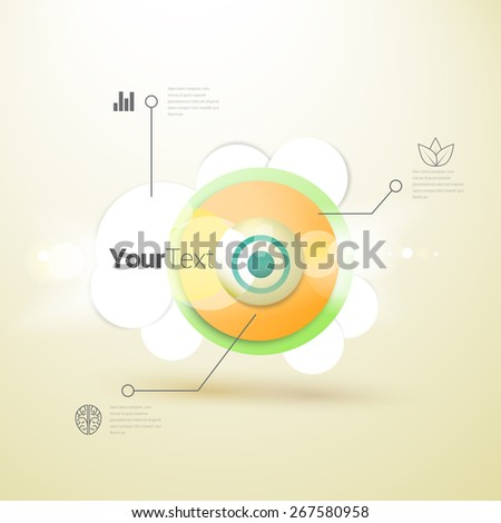Scientific Steps of Enlightment Vector Illustration for Your Information - stock vector