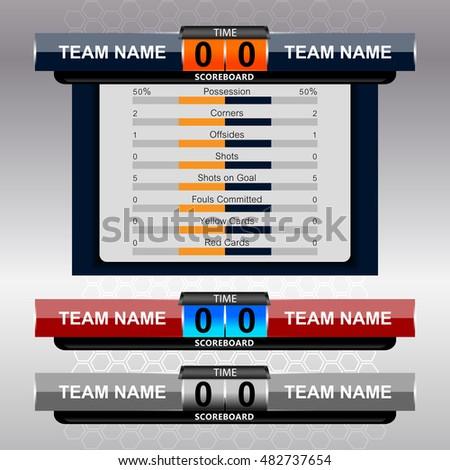 Scoreboard Excel Template Mandegarfo