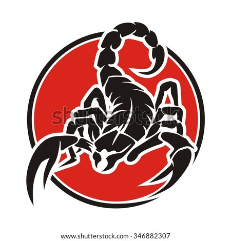 scorpion logo stock images royaltyfree images amp vectors