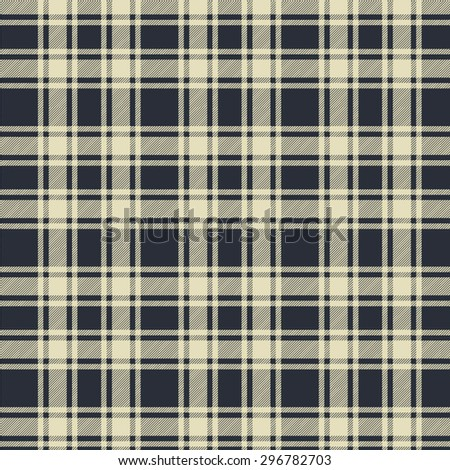 Scottish Plaid Seamless Vector Pattern